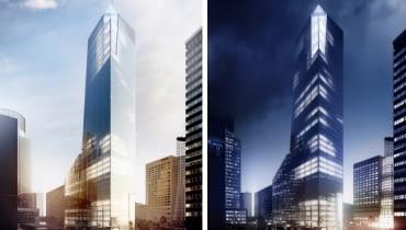 Wieżowiec Q22 będzie wysoki na 155 metrów