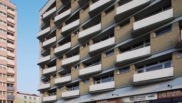 Termomodernizacja bloku w Poznaniu, proj. Ultra Architects