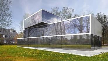 Wizualizacja najnowszego projektu z pracowni Roberta Koniecznego. Dom jednorodzinny powstanie w Bremie (Niemcy)