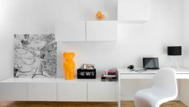 kawalerka, małe mieszkanie, jak urządzić kawalerkę