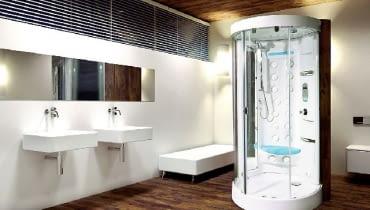 Modele kabin całkowicie obudowanych nie wymagają specjalnego przygotowania ścian łazienki