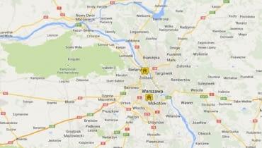 Mapa hoteli owadów