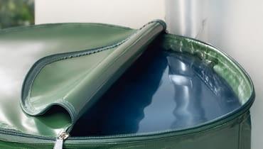 Składany zbiornik na deszczówkę
