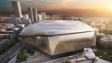 Santiago Bernabéu - projekt przebudowy stadionu