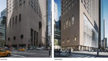 Plan przebudowy 550 Madison Avenue, proj. Snohetta
