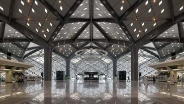 Dworzec szybkiej kolei w Arabii Saudyjskiej. Proj. Foster + Partners.