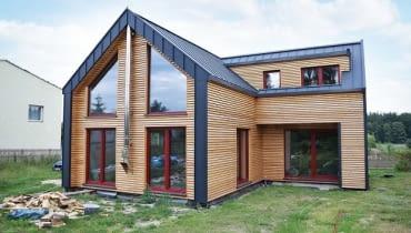 Szwajcarski dom zbudowany w Polsce