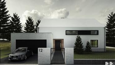 dom jednorodzinny, projekty domów, projekt domu