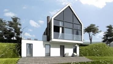 Dom nad zalewem, projekt