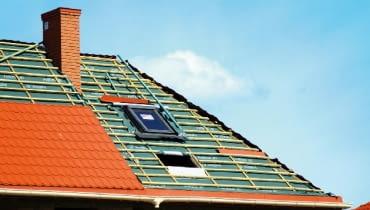 wstępne krycie dachu, dach