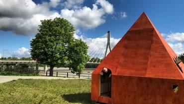 Domek Czytelniczy nad Wisłą w Warszawie