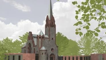 Zwycięska projekt adaptacji opuszczonego kościoła w Pisarzowicach