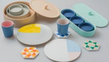 naczynia, ceramika, pastele