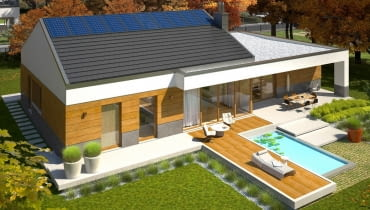 Projekt domu EX 11 G2 (wersja D)