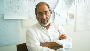 Alvaro Siza- portugalski architekt, laureat Złotego Lwa podczas XIII Biennale Architektury w Wenecji