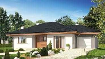 Projekt domu Franczi II G1 ECONOMIC (wersja A)