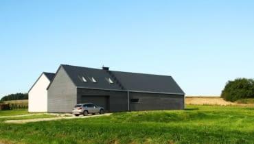 Dom jednorodzinny pod Wrocławiem, projektu Major Architekci