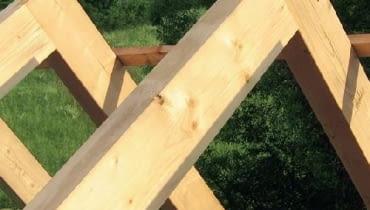 konstrukcja dachu, kalenica, krokwie
