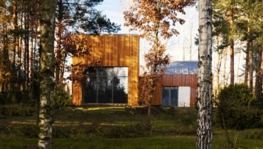 Dom w Kuźnicy Kiedrzyńskiej; proj. Grupa Verso Deltoid