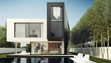 dom jednorodzinny, projekt domu
