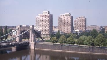 Zespół mieszkalno-usługowy przy placu Grunwaldzkim, 1969-75 (projekt 1963-69)
