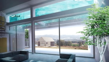 Dom Podwodny - salon