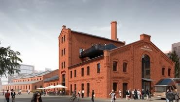 Rewitalizacja terenów po dawnej fabryce wódek Koneser na warszawskiej Pradze