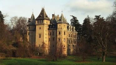 Zamek w Gołuchowie. Elewacja wczesnorenesansowa