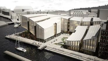 Muzeum Bursztynu w Gdańsku, projekt dyplomowy