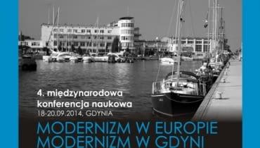 Konferencja Modernizm w Europie, modernizm w Gdyni