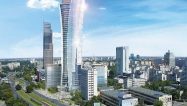 Biurowiec Warsaw Spire, mat. prasowe