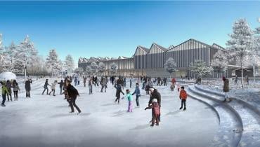Zwycięski projekt nowego budynku Łotewskiego Muzeum Sztuki Współczesnej