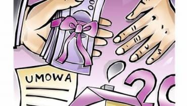 Umowa darowizny między darczyńcą a obdarowanym powinna być sporządzona w formie pisemnej
