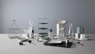 Firma Alessi stworzyła specjalną kolekcję naczyń dla linii lotniczej