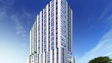 Nowy budynek przy ulicy Mogilskiej 116 w Krakowie