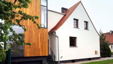 dom jednorodzinny, przebudowa domu, domy realizacje