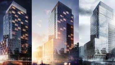 Prime Corporate Center - wizualizacja