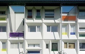 Qubic, Amsterdam, Holandia, proj. HVDN, 2005