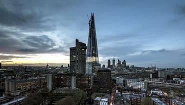 Wieżowiec Shard London Bridge, najwyższy budynek w Londynie