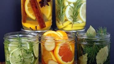 Mieszanki do aromaterapii z naturalnych składników