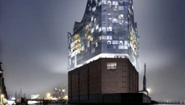 Elbphilharmonie Filharmonia w Hamburgu (Hafencity) projekt Herzog de Meuron