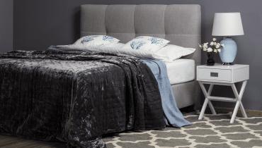 Łóżko kontynentalne Isabel marki Comforteo