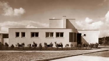 Budynek zaprojektowany przez Heinricha Lauterbacha