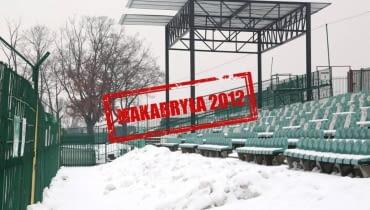 Wiata na stadionie w Radomiu