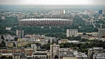 29.06.2010 WARSZAWA , STADION NARODOWY . FOT. FILIP KLIMASZEWSKI / AGENCJA GAZETA SLOWA KLUCZOWE: SPORT STADION EURO 2012 MIASTO PANORAMA