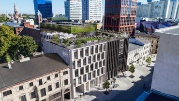 Fern Office na OFF Piotrkowska w Łodzi. Proj. NOW Biuro Architektoniczne.