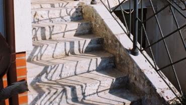 schody zewnętrzne