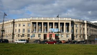 Szlak architektury PRL'u, Dom Partii, obecnie Uniwersytet w Białymstoku: Wydziały Filologiczny i Historyczno-Socjologiczny w Białymstoku