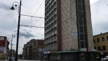 Stan obecny. Tak wygląda biurowiec Eltry w Bydgoszczy.