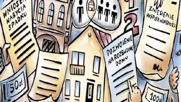 Zanim podejmiemy decyzję o rozbudowie, należy przeprowadzić postępowanie spadkowe (jeśli dom dziedziczy więcej niż jedna osoba)
